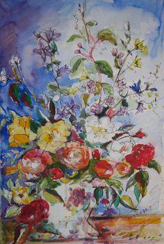 flowers by Virginia Griffith Jones