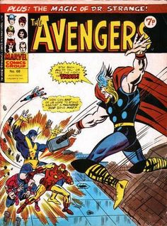 Marvel UK, The Avengers #68.