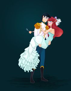 Disney Weddings, The Little Mermaid, by Kath Hudson