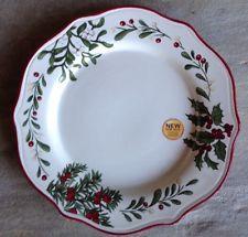 Better Homes & Gardens Christmas Heritage Dinner Plate * New 2014 * Multiples
