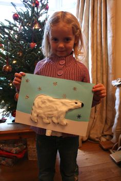 Here's a quick and easy craft for those of you who need to entertain small people during the school holidays. You need: White card Blue Paper / Card - we used A4 size Sparkly snowflake sequins or s...