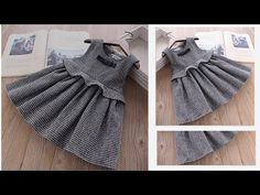 DIY Designer Baby Frock For 4 to 5 Year Cutting & Stitching Full Tutorial Baby Girl Dresses Diy, Little Girl Pageant Dresses, Baby Outfits, Kids Outfits, Kids Clothes Patterns, Baby Girl Dress Patterns, Clothing Patterns, Baby Frocks Designs, Kids Frocks Design