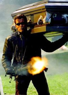 Arnold Schwarzenegger in Terminator 3: Rise of the Machines
