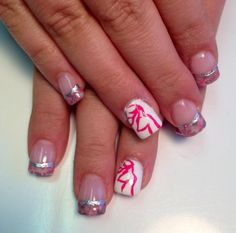 camo nail designs | Camo nails with Browning sign!