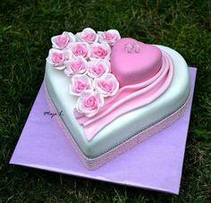 Heart cake <3
