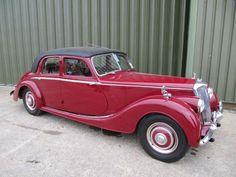 Riley RMB 2.5 litre sports saloon 1946