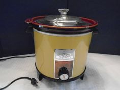 Vintage Sears Crock Watcher. Crock Pot.  Sears Crock pot. Sears Slow cooker. Slow cooker. by Montyhallsshowcase on Etsy
