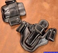 Posts about Gun holsters written by Thanh N. 1911 Holster, Pocket Holster, Pistol Holster, Paddle Holster, Custom Leather Holsters, Western Holsters, Cool Guns, Leather Projects, Guns And Ammo