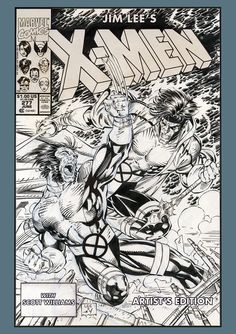 Comic Book Artists, Comic Book Characters, Comic Artist, Comic Books Art, Comic Book Drawing, Book Cover Art, Comic Book Covers, Jim Lee Art, Coloring Book Pages