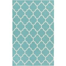 Blanche Rug, Turquoise