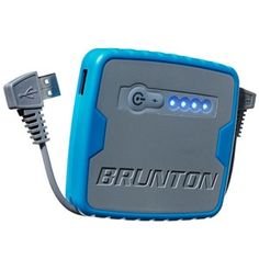 Hiking Gear: Whether your at the beach or hiking a mountain, be prepared with the Brunton Inspire power pack
