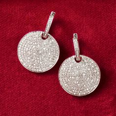 For maximum sparkle and shine, indulge in pavé diamonds. Razzle Dazzle! >>Click on the Pavé Diamond jewelry to shop the Ross-Simons collection.