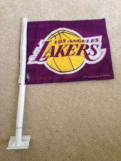 Rico Kobe Bryant 8 Los Angeles Lakers Car Flag