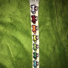 Diy Bracelets Patterns, Yarn Bracelets, Bracelet Designs, Crafts To Do When Your Bored, Diy Friendship Bracelets Patterns, Bullet Journal Aesthetic, Diy Crafts Hacks, Alpha Patterns, Summer Of Love