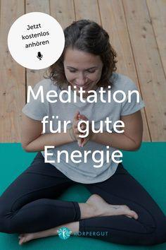 Gerade jetzt in Zeiten von Corona, Lockdown und Co. sind wir Menschen angespannter als sonst.Deshalb habe ich heute eine 10-minütige Meditation für dich, die dir dabei hilft, negative Energie in positive umzuwandeln. Probier's unbedingt aus! Es wirkt nämlich Wunder! Höre jetzt in die Podcast Folge rein ✨#positivemind #mindfulness #meditation Meditation, Positive Energie, Yoga, Training, Corona, Envy, Happy Life, Joie De Vivre, Consciousness