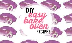 Store-bought Easy Bake Oven mixes are expensive! You can make them for a lot less yourself. Here's a list of DIY Easy Bake Oven recipes.