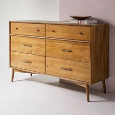 west elm's modern dressers and chests provide stylish organization for any bedroom. Shop our selection of chest of drawers and update your space. 60s Furniture, Small Furniture, Apartment Furniture, Classic Furniture, Repurposed Furniture, Bedroom Furniture, Furniture Ideas, Industrial Furniture, Kitchen Furniture