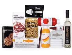 Design Agency Gives IKEA Food Packaging A Fresh, Minimalistic Feel by Stockholm Design Lab
