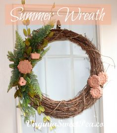 Just for color palette inspiration [Sweet Pea: Another Summer Wreath]