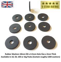 Neoprene Rubber Penny Washers Size ( x Bore x thick ) Neoprene Rubber, Washer, Washing Machine