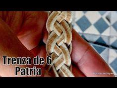 """Trenza de 6 Patria """"Chelin Torres"""" """"El Rincón del Soguero"""" - YouTube"""