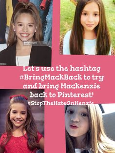 Stop the hate on Kenzie #BRINGMACKBACK PUT HIS ON YOUR MOST POPULAR BOARD