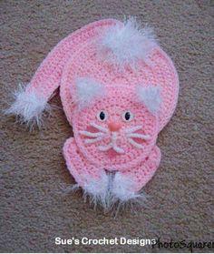 Crochet Car, Crochet Bunny, Crochet Gifts, Cute Crochet, Crochet Flowers, Crochet Applique Patterns Free, Cat Applique, Crochet Cat Pattern, Crochet Motif