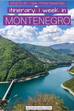 Montenegro - best things to do and see - Travel tips - Travel tour - travel ideas Backpacking Europe, Europe Travel Guide, Travel Guides, Europe Budget, Cool Places To Visit, Places To Travel, Travel Destinations, European Destination, European Travel