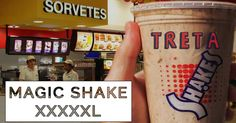 Dia do sorvete com um Magic Shake XXXXXL!