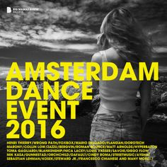 Amsterdam Dance Event 2016 [Big Mama's House Compilations – Techno, Amsterdam, Dance, Album, Big, Movie Posters, Minimal, House, Rural Area