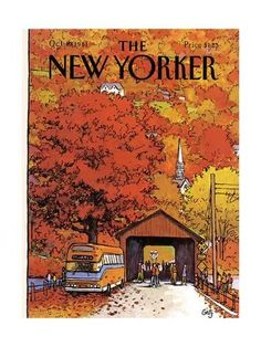 The New Yorker Cover - October 19, 1981 ジクレープリント