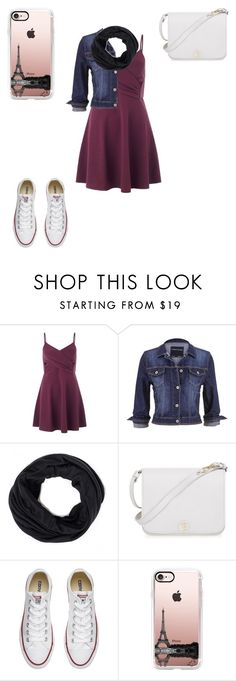 """11/3/16"" by a-hidden-secret ❤ liked on Polyvore featuring Miss Selfridge, maurices, Furla, Converse and Casetify"
