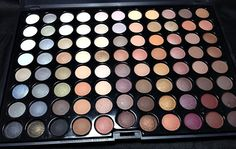 Crown Brush 88 color warm eyeshadow palette - A neutral lovers dream!! Yes you do need this even if you have the Naked Palettes!