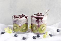 ⠀ Make the most delicious chia seeds pudding and you will never be tempted to buy yourself an unhealthy breakfast:⠀ ⠀ Soak 1/2 cup of chia seeds in 2 cups of coconut milk mixed with vanilla extract and a pinch of cinnamon. Leave it in the fridge for at least 4 hours (or overnight) and serve it with your fruit of choice. Tip: Kiwis, blueberries and cherries are also known for ...