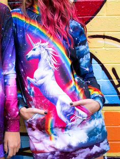 Hell Yeah Slouchy - LIMITED (WW $150AUD / US $120USD) by Black Milk Clothing