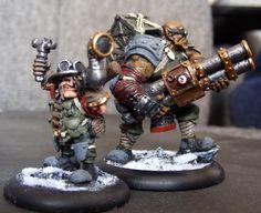 Searforge (Rhulic) Herne & Jonne Unit  for Warmachine  By Maxxev