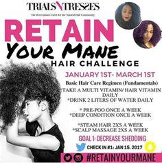 Retain Your Mane Hair Challenge