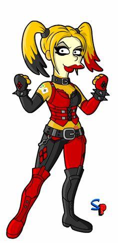 Springfield Punx: Harley Quinn - Arkham City