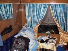 Trans-Siberian Train Cabin Photo - Trans-Siberian Railway, Vladivostok, Russia
