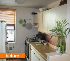 Before & After: A Brooklyn Kitchen Opens Up