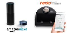 Amazon Alexa kann jetzt auf Deutsch mit den Roboter-Staubsaugern Neato Botvac Connected interagieren http://ift.tt/2jcJGhu