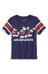 Mighty Fine 'Mickey Mouse™' T-Shirt (Toddler Boys)