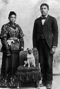 Vintage African American Couple, Date Unknown