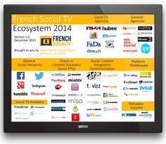 Ecosystème de la SocialTV en France pour 2014