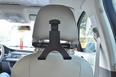 iPad Tablet Headrest Mount Universal Car Headrest Holder for Portable DVD Player, Kindle, Samsung Tablet, iPad Air / Mini and All 7-10 inches Devices  Package included:    1 x 7-10 inches Headrest Car Mount   Compatible with iPad Air Mini/ Galaxy Tab E S2/ Acer Iconia/ Sony Xperia Z4 and all 7-10 inches tablets or other Electronic Devices Compatible with iPad Air Mini/ Galaxy Tab E S2/ Acer Iconia/ Sony Xperia Z4 and all 7-10 inches tablets or other Electronic Devices Made of durabl..