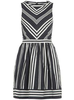 Tall chevron stripe dress