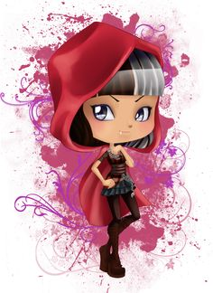 Cerise chibi by Airinreika on deviantART