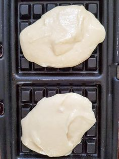 Ultra soft waffles - My Parisian Kitchen - - Dessert Simple, Waffle Recipes, Snack Recipes, Dessert Recipes, Thermomix Desserts, Easy Desserts, Parisian Kitchen, Crepes And Waffles, Recipe Tin