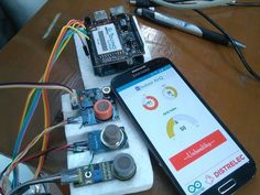 Indoor Air Quality Monitoring System Diy Electronics, Electronics Projects, Electronics Components, Spa Room Decor, New Technology Gadgets, Raspberry Pi Projects, Diy Entertainment Center, Cool Inventions, Home Automation