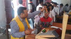 Naya Bazar Kohinoor #LionsClub (India) provided vision screenings for 5,572 school children